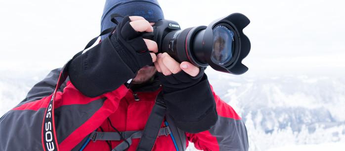Fotografie Tipp: Der warme Fotohandschuh - Schluss mit kalten Fingern