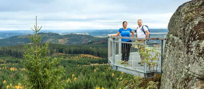 Wandern Waldviertel: auf den Nebelstein in Niederösterreich
