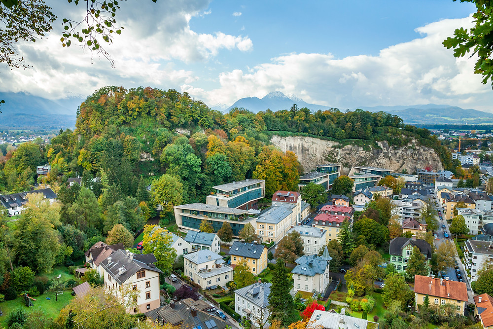 Mönchsberg, Salzburg, Salzburg Altstadt, Mozartstadt, Kurzurlaub, Stadtwandern, Stadtwanderung, Besichtigung, Sightseeing, Kulturrundgang, Sehenswürdigkeiten, Spaziergang,