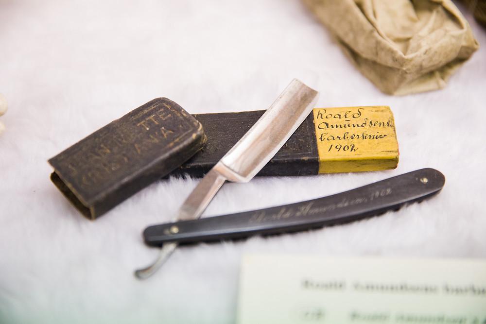 Alltagsgegenstände von Roald Amundsen im Polarmuseum Tromsö