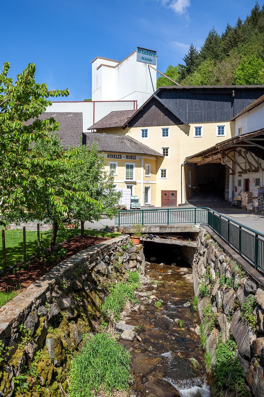 Winkler-Mühle, Steinbachklamm, Nibelungengau, Waldviertel, Donau, Niederösterreich, Wandern, Ausflug, Wandertipp, Marbach