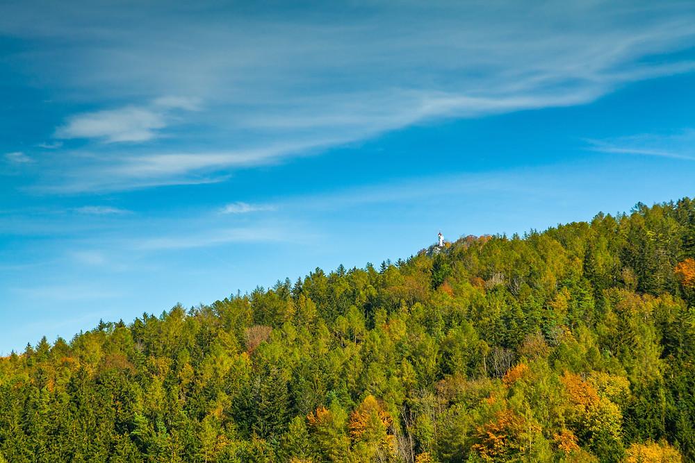 Urlingerwarte, Blassenstein, Scheibbs, Mostviertel, Niederösterreich, wandern, Wanderung, Herbst,