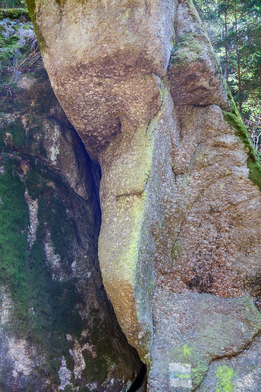 Granit, Fels, Felsformation, Waldviertel, Kamptal, Wackelsteine, Niederösterreich, Wandern, Wanderung