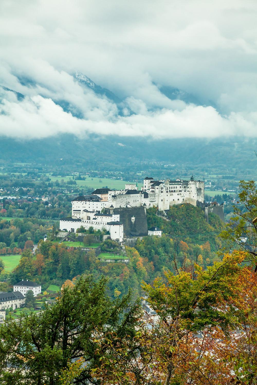 Salzburg, Kapuzinerberg, Altstadt. Mozartstadt, Stadtwandern, Stadtwanderung, Sightseeing, Stadtbesichtigung, Sehenswürdigkeiten, Festung Hohensalzburg