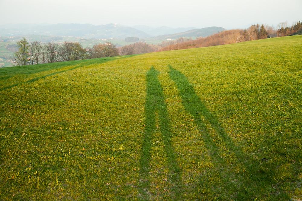 Schatten, Wandern, Wanderung