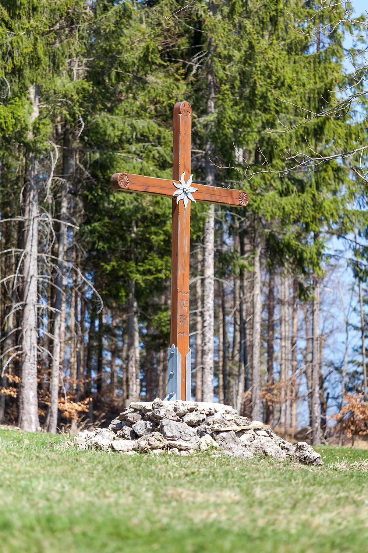Gipfelkreuz, Forsteralm, Gipfel, Alpenverein, Wandern, Wanderung, Hirschkogel