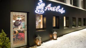 Norwegen: Tromsö Lokal-Tipp, Art Cafe