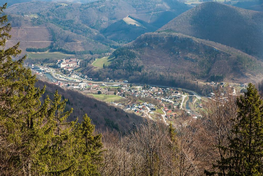 Schneerosenwarte, Lilienfeld, Mostviertel, Niederösterreich, Wandern, Wanderung, Wanderweg, Ausblick, Voralpen