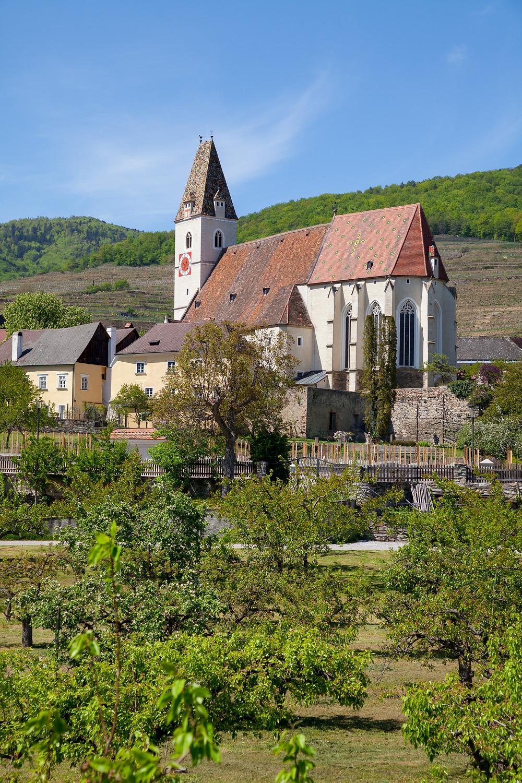 Pfarrkirche, Kirche, Spitz an der Donau, Wachau, Donau, Altstadt, Wandern, Ausflug, Wandertipp, Niederösterreich, Wachau