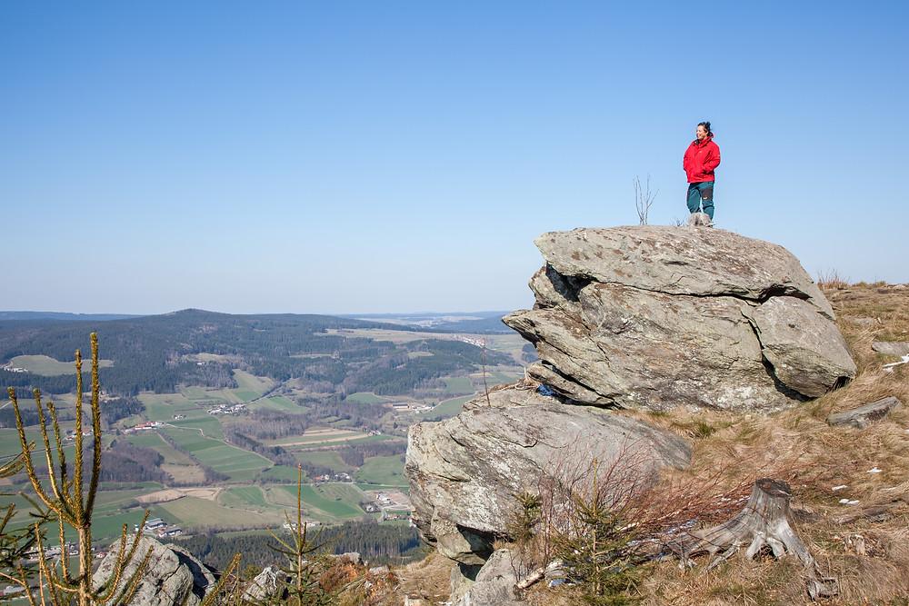 Peilstein, Waldviertel, großer Peilstein, kleiner Peilstein, Wandern, Wanderung, Niederösterreich, Österreich, Wandertipp, Winterwandern, Winterwanderung, die reisereporter, Sonja Lechner,