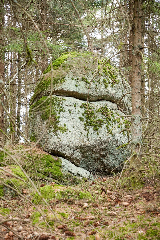 Wackelstein, Granit, Waldviertel, Steine, Wandern, Wanderung