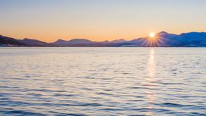 Norwegen: Fjord, Schnee & Meer unweit von Tromsö? Telegrafbukta!