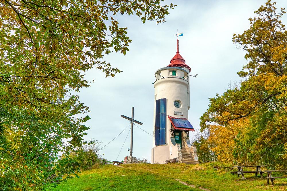 Blassenstein, Urlingerwarte, Scheibbs, Gipfelkreuz, Warte, Aussichtswarte, Mostviertel, wandern, Wanderung, Niederösterreich,