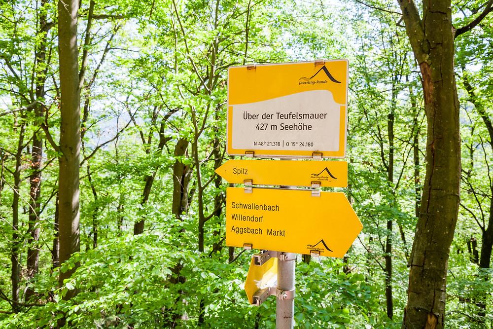 Teufelsmauer, Spitz, Wachau, Niederösterreich, Wandern, Ausflug