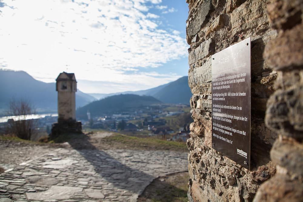Wanderung, Rotes Tor, Spitz an der Donau, Wachau, Niederösterreich, Wandern, Wanderung, Welterbesteig