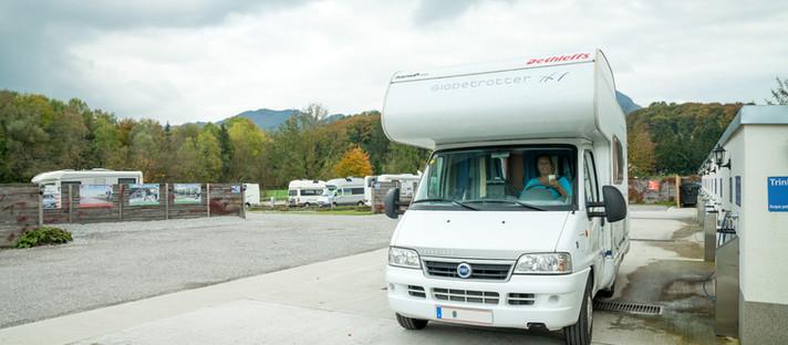 Wohnmobil-Stellplatz Salzburg in Österreich