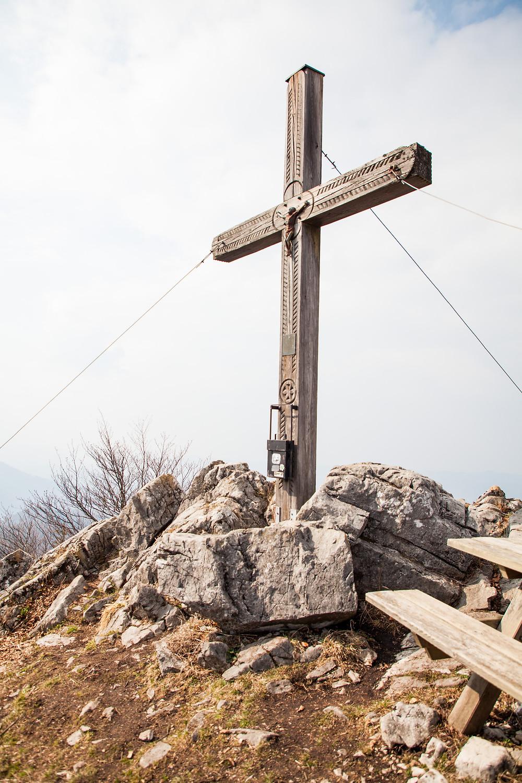 Gipfelkreuz, Hohenstein, Pielachtal, Mostviertel, Niederösterreich, Wandern, Wanderung, Bergwandern