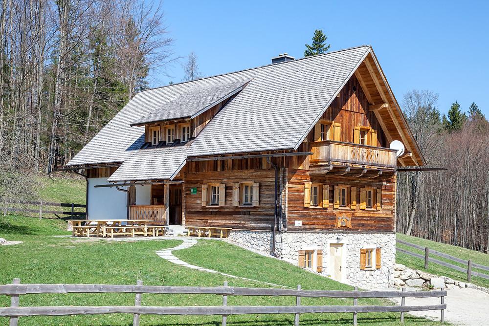 Almhütte, Berghütte, Alm, Bauernhaus, Weide, Forsteralm, Hirschkogel, Mostviertel, Niederösterreich