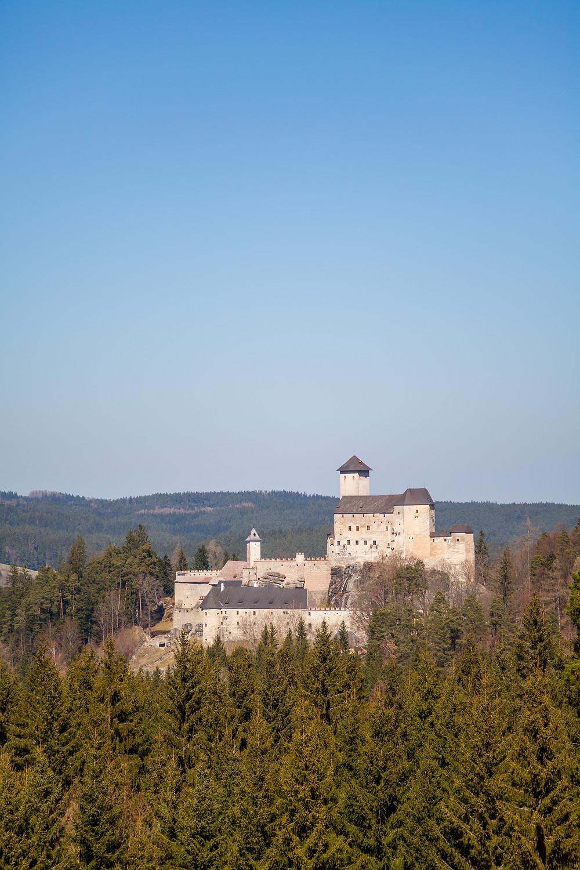 Burg Rappottenstein, Burg, Ritterburg, Wandern, Wanderung, Waldviertel, Niederösterreich