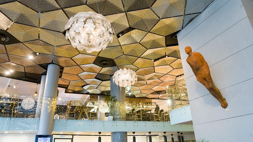 Moderne Architektur im Hotel Clarion the edge in Tromsö Norwegen