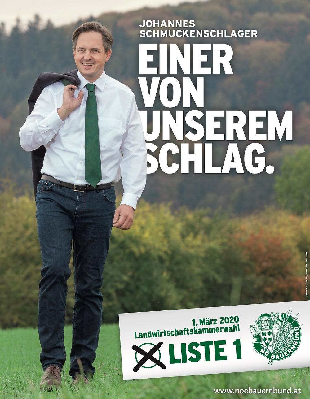 LKNÖ Präsident Johannes Schmuckenschlager