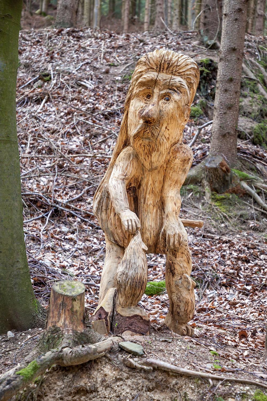 Holzschnitzen, Schnitzen, Skulptur, Süßenhof, St. Oswald, Waldviertel, Niederösterreich
