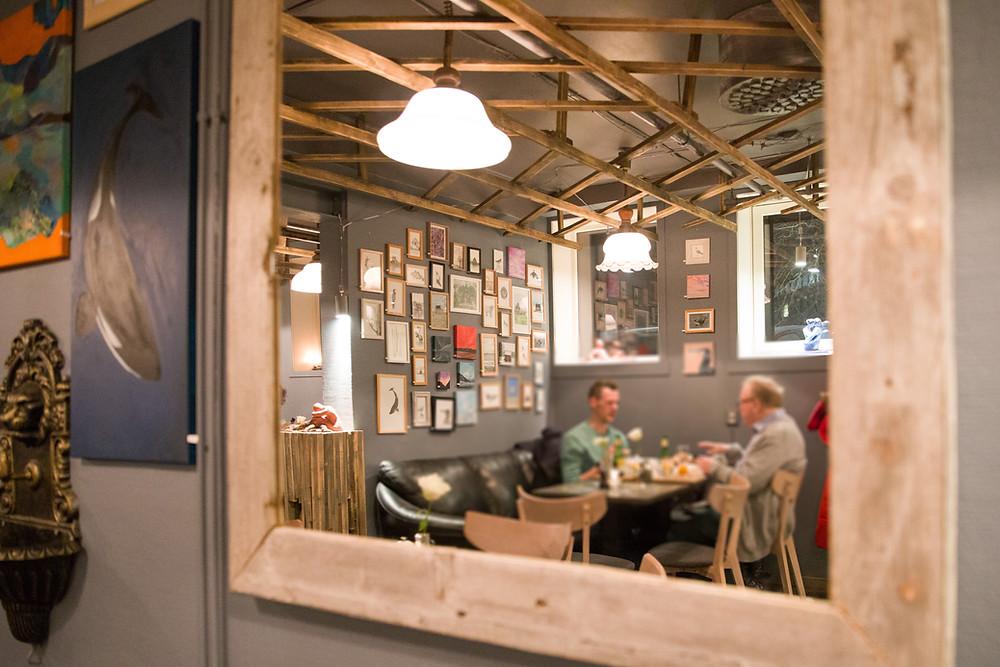 Lokal-Tipp in Tromsö - das Art Café ist ein Geheimtipp