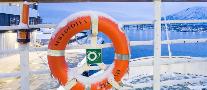 Norwegen:Tromsö: Besuch auf der MS Lofoten von Hurtigruten
