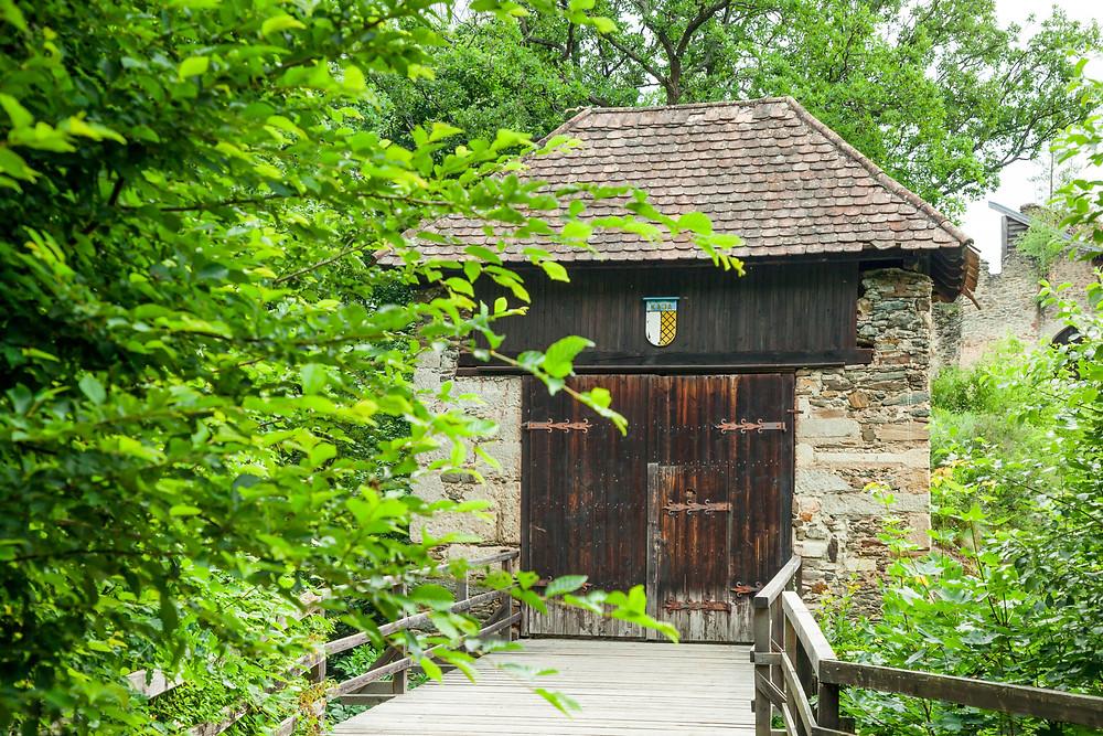 Burgruine Kaja, Nationalpark Thayatal, Thayatal, Nationalpark, NP Thayatal, Thaya, Waldviertel, wandern, Wanderung, Ausflug, Niederösterreich