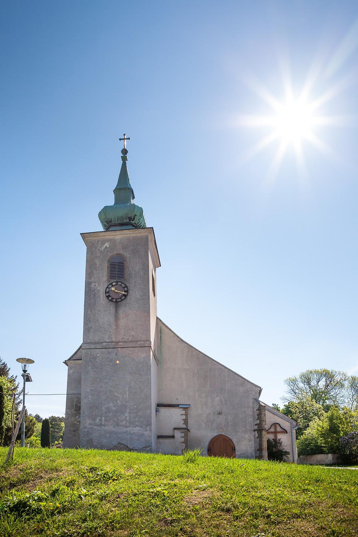 Pfarrkirche, Oberleis, Buschberg, Leiser Berge, Weinviertel, Wandern, Niederösterreich, Wandertipp, Ausflug