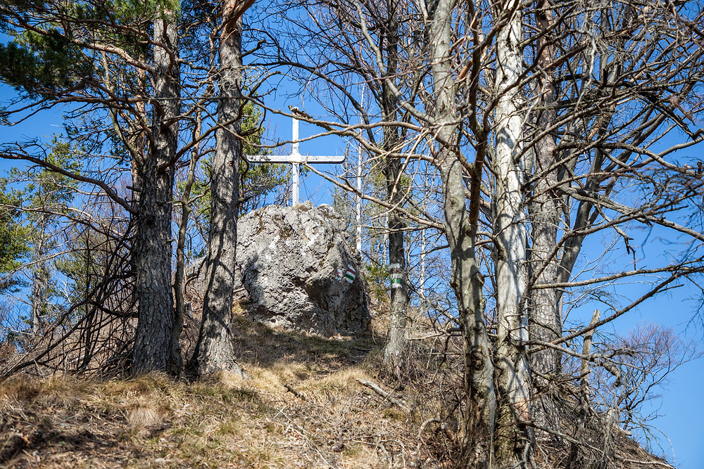 Lorenzipechkogel, Gipfelkreuz, Wanderung, Wandern, Wanderweg, Gipfel, Lilienfeld, Niederösterreich, Mostviertel, Frühling