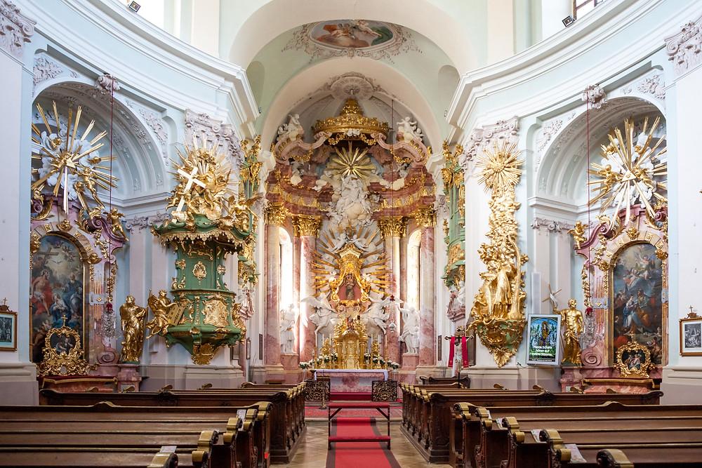 Hafnerberg, Wallfahrtskirche, Via Sacra, Wallfahrt, Kirche, Wienerwald, Niederösterreich, 3-Kirchen-Wanderung, Wandern, Ausflug, Wandertipp
