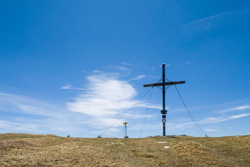 Göller, Alpen, Mostviertel, Niederösterreich, Wandern, Wandertipp, Bergwandern, Gipfelkreuz, Gipfel