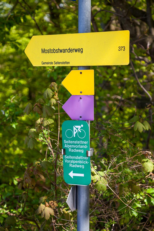 Wanderweg, Wandermarkierung, Mostobstwanderweg, mostviertel, Wandern, Wandertipp, Ausflug