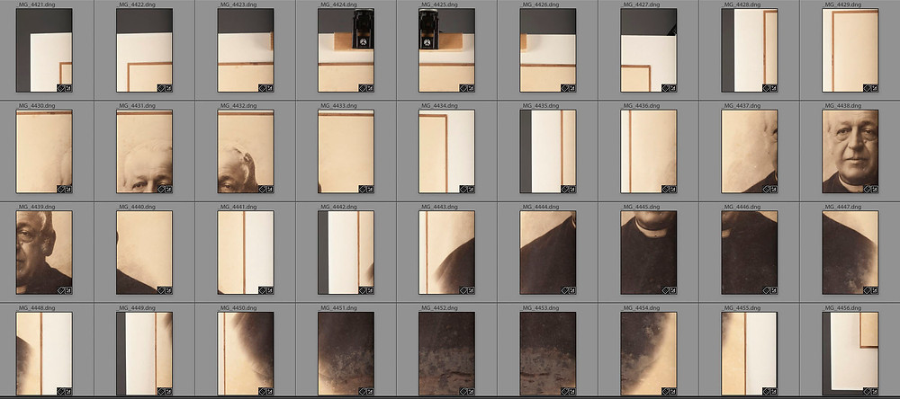 Gigapixelfotografie, Bildberarbeitung,