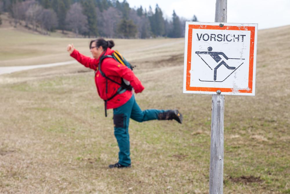 Langlaufen, Kiensteinder Öde, Ebenwaldhöhe, Voralpen, Kleinzell, Niederösterreich, Wandern, Wandung, Almen, Alm, Weide