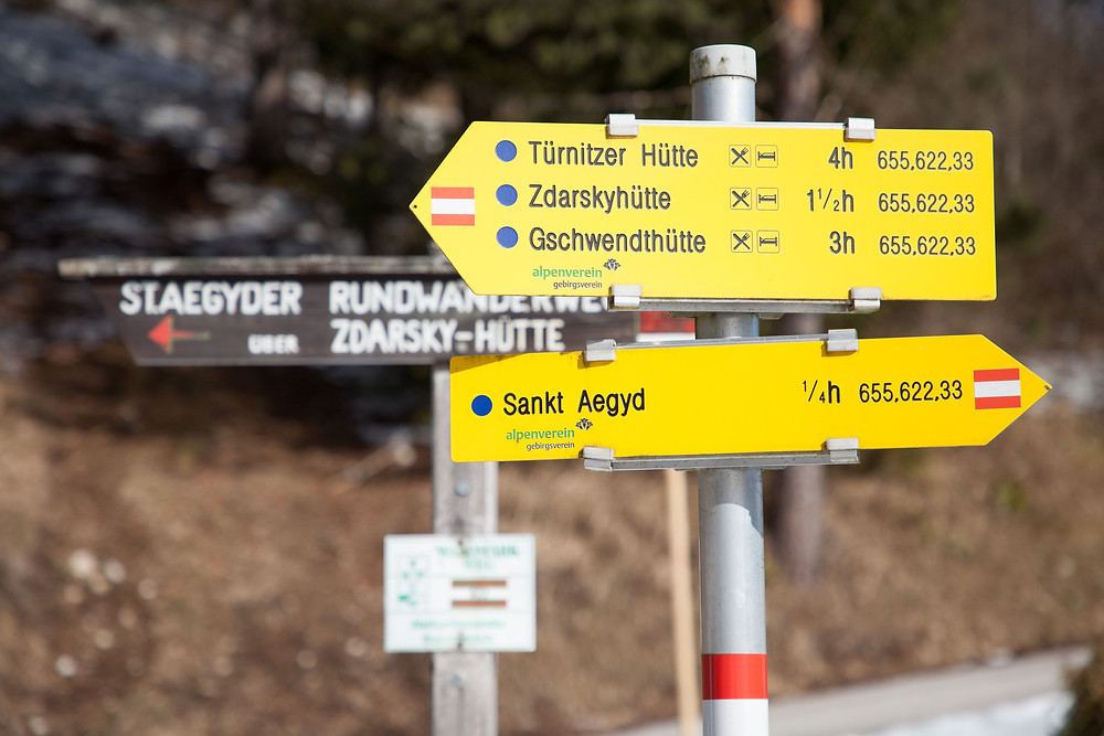 Zdarskyhütte, St. Aegyd, Voralpen, Niederösterreich, Wancurasteig, Steig, Winterwandern, Wandern, Wanderung, Hütte, Berghütte, Naturfreunde