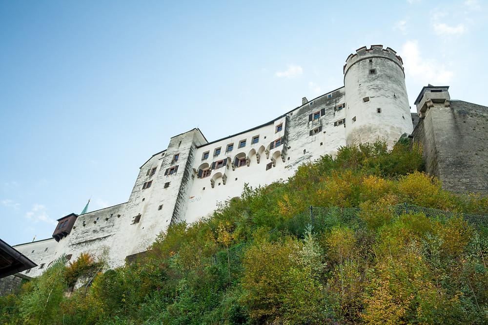 Festung Höhensalzburg, Festung, Burg, Schloss, Salzburg, Salzburg Altstadt, Mozartstadt, Kurzurlaub, Stadtwandern, Stadtwanderung, Besichtigung, Sightseeing, Kulturrundgang, Sehenswürdigkeiten, Spaziergang,
