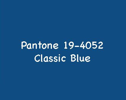 Color of the year 2020 - die Trendfarbe des Jahres 2020: klassisches Blau!
