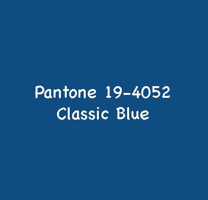 Pantone Farbe 2020 - klassisches Blau für kühle Farbtypen