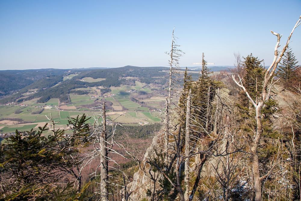 Peilstein, Ausblick, Waldviertel, Niederösterreich, Wandern, Wanderung