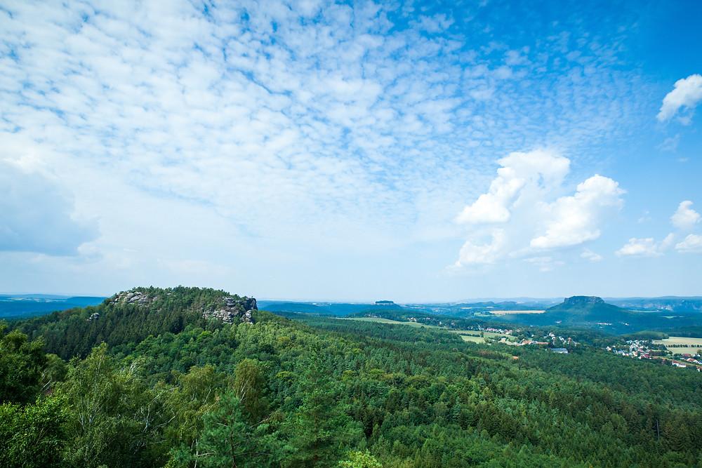 Sächsische Schweiz, Elbsandsteingebirge, Sachsen, Deutschland, Wandern, Wanderung, Wandertipp, Wanderurlaub, Wanderreise, Rundwanderung, Papststein