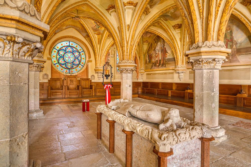Kapitelsaal, Stift Heiligenkreuz, Heiligenkreuz, Kloster, Stiftskirche, Wallfahrtsort, Wienerwald, Via Sacra