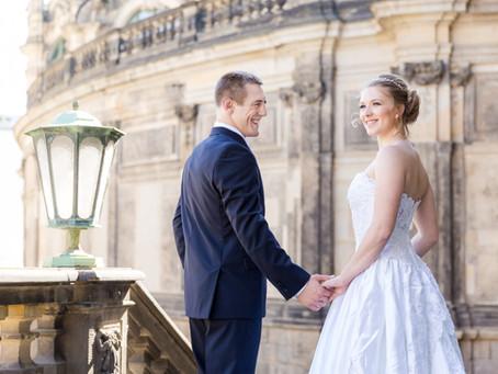 Hochzeitsfotografie in Dresden