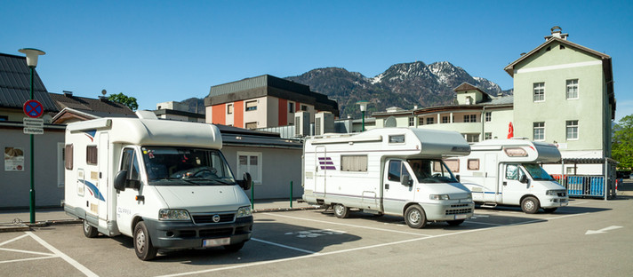 Wohnmobil-Stellplatz Kaiservilla Bad Ischl im Salzkammergut - Oberösterreich