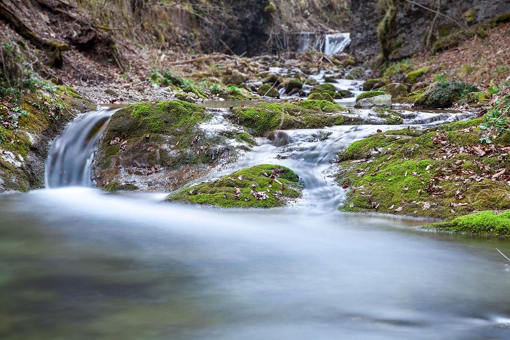 Bach, Bachlauf, Plätschern, Wasser, Hohenstein, Pielachtal, Mostviertel, Niederösterreich, Wandern, Wanderung, Bergwandern