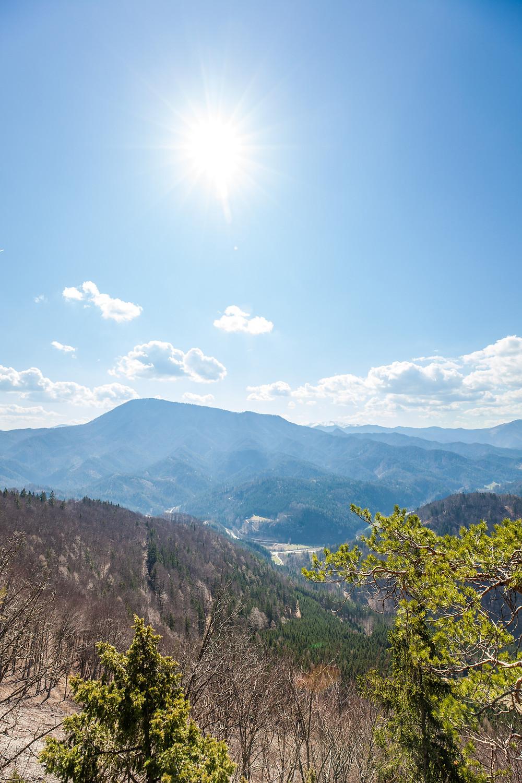 Frühling, Lehenrotte, Lilienfeld, Voralpen, Niederösterreich, Wandern, Wanderung, einfache Wanderung, Ausblick, Sonnenschein