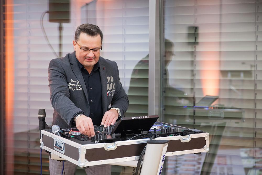 DJ Rainer als Event-DJ