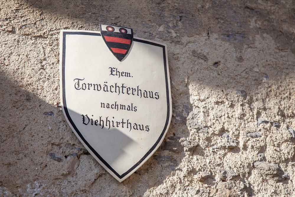 Torwächterhaus, Dürnstein, Wachau, Donau, Richard Löwenherz, Blondel