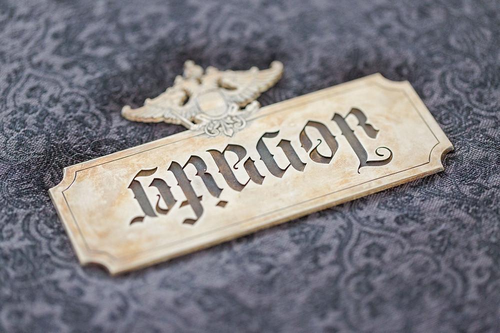 Anagramm des Hochzeitspaares